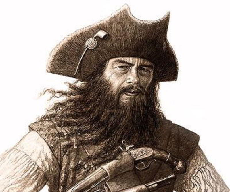 Blackbeard: Myths About The Infamous Pirate Who Was (Almost) Impossible To  Kill | History Daily