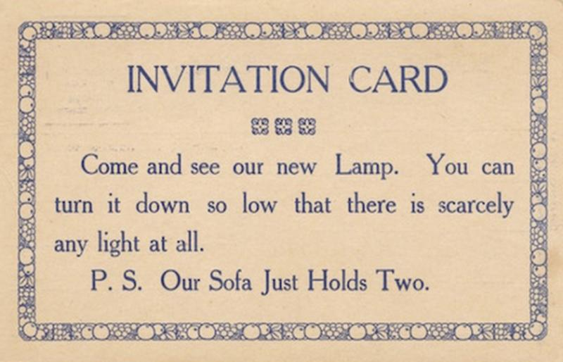 19 century pick up lines - business cards 7