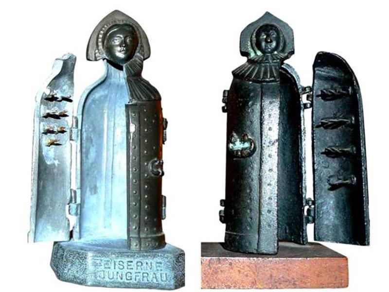 brutal torture devices - iron maiden