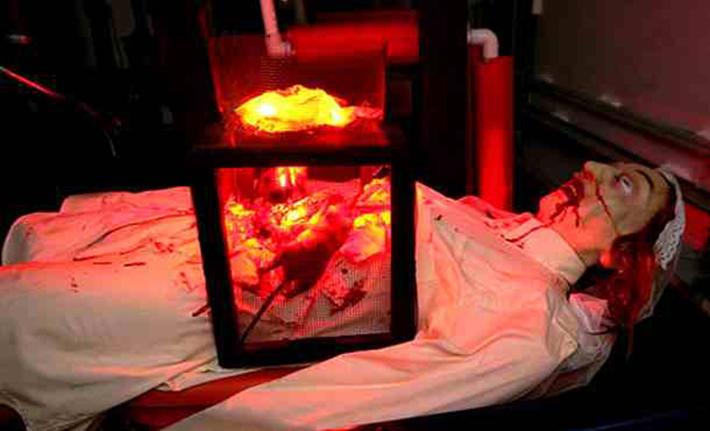 brutal torture devices - rat torture