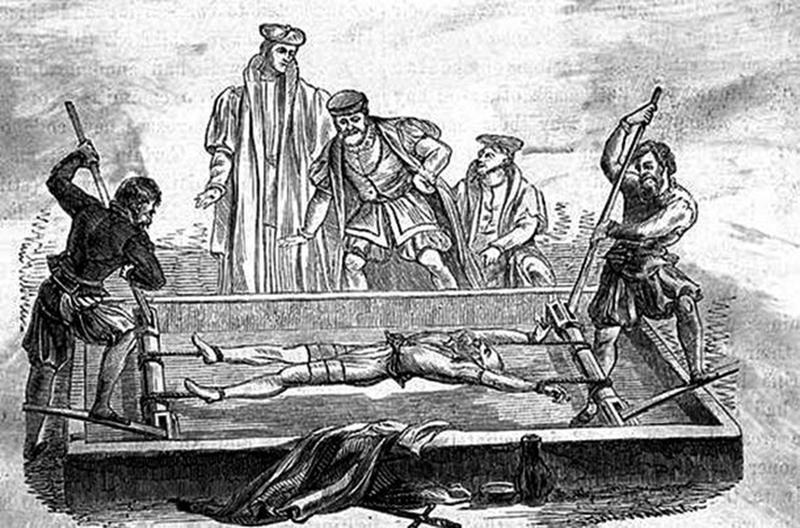 brutal torture devices - the rack