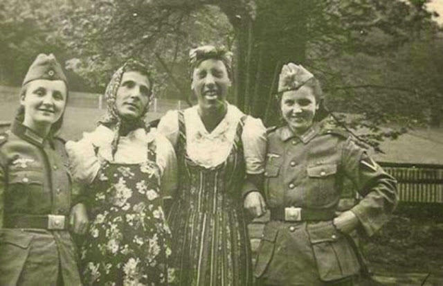 26 Pictures (Some Are Shocking) of Nazi Collaborator Girls